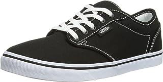 (42.5 EU (8.5 UK), Black/True White) - Vans Atwood Low Valcanised Skate, Women's Low-Top Trainers