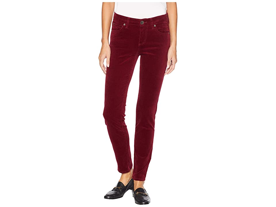 KUT from the Kloth Diana Skinny Jeans in Pomegranate (Pomegranate) Women