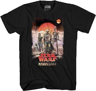 Star Wars Mandalorian Team Desert Disney+ Show Adult Men's Graphic Tee T-Shirt