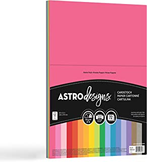 Neenah Paper 46407-02 Creative Collection Cardstock Starter Pack 8.5-inch x 11-inch 72/Pkg