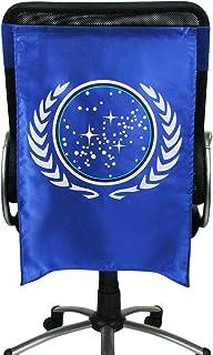 Entertainment Earth Star Trek The Original Series Federation Insignia Chair Capes