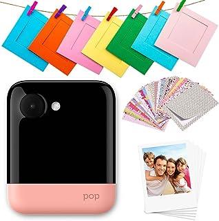 Polaroid Pop 2.0 Cámara digital de impresión instantánea (Rosado) 20 Mp Pantalla Táctil de 397 In Wi-Fi incorporado Te...