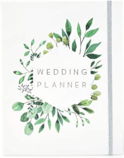$24 » Wedding Planner Book and Organizer for Brides with Gift Box | Engagement Gift for Couples | Hardcover Bridal Planning Jour...