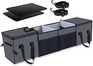 X-cosrack Organisateur de coffre de voiture, rangement avec sacs isothermes isolants pour SUV, camion, automobile, fourgon...