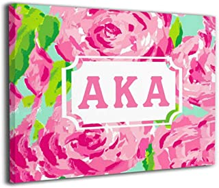 Solke Hasoybn Alpha Kappa Alpha Modern Canvas Wall Art Paintings Home Decor Wall Art Decor for Home Living Room Decor
