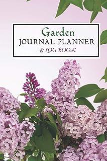 Garden Journal Planner and Log Book: Wild in the Garden Diary Creative Haven Midnight Garden Coloring Garden Notebook.
