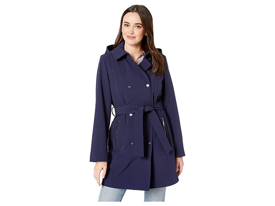 Vince Camuto Hooded Softshell Jacket V19731 (Navy) Women