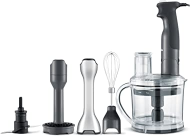 Breville BSB530XL the All In One Immersion Blender, Stainless Steel