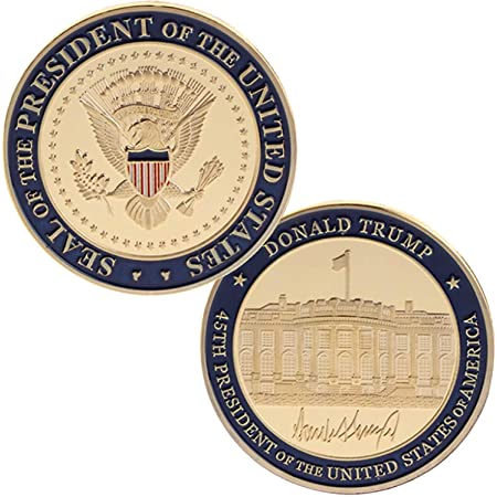Strugglejewelry United States The 45th President Donald Trump Inauguration Challenge Coin