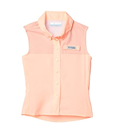 Columbia Kids Tamiamitm Sleeveless Shirt (Little Kids/Big Kids) (Tiki Pink 1) Girl