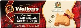 Walkers Shortbread - Pure Butter, Scottie Dogs - Case of 12 - 3.9 oz.