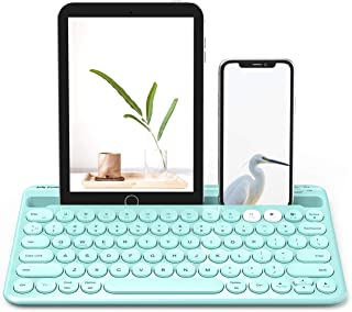 Bluetooth Keyboard, Jelly Comb Multi-Device Rechargeable Wir