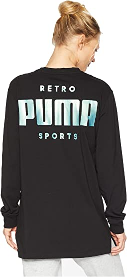 Retro Sports Long Sleeve Tee