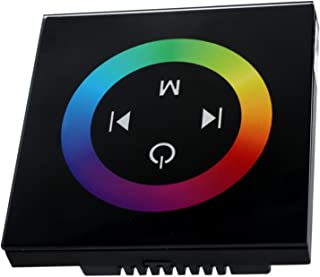 DingXW DC 12-24V (1PCS) TM08 Wireless Touch Panel RF RGB Controller LED