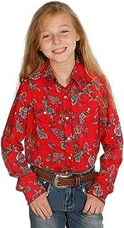 Roper Girls Five Star Novelty//Applique//Embroid Printed Knit Short Sleeve Shirt