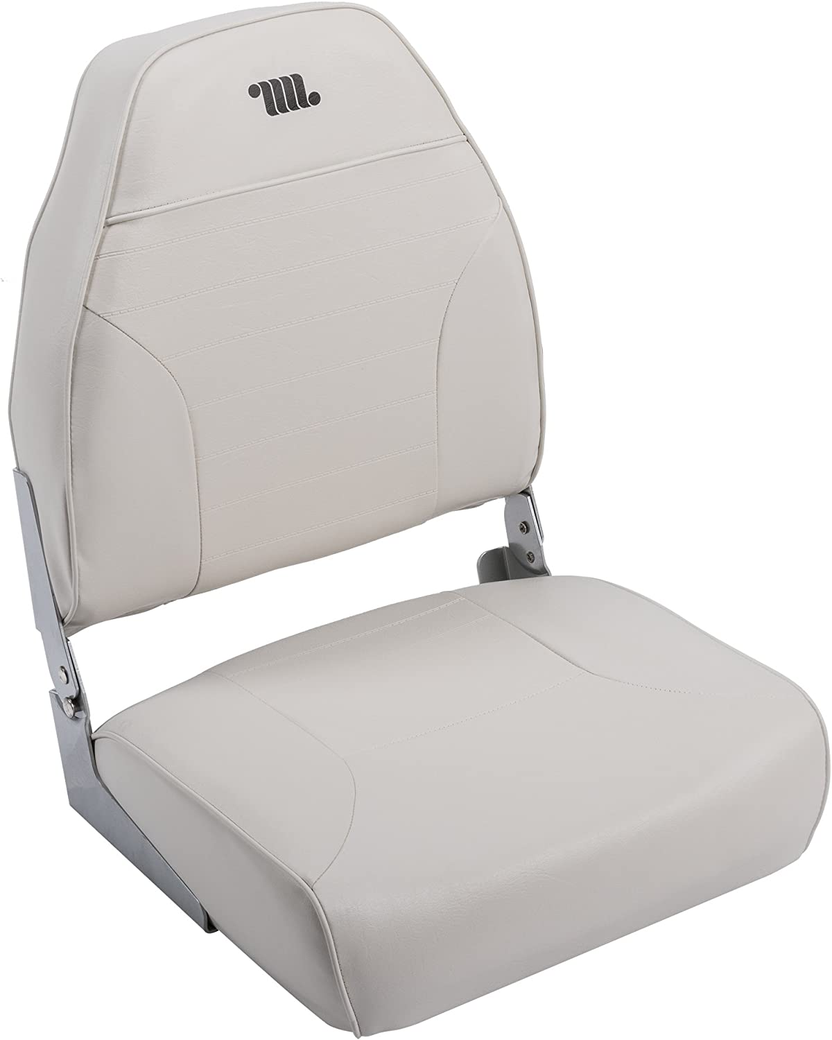 Wise 8WD588 Series Mid-Back Fishing Boat Seat with Logo