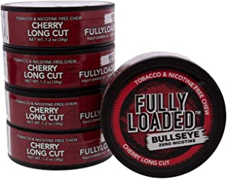 Fully Loaded Chew - 5 Pack - Tobacco and Nicotine Free Cherry Flavored Chew