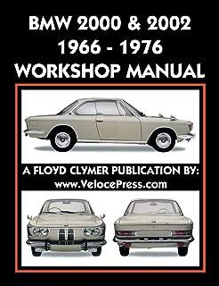 BMW 2000 & 2002 1966-1976 WORKSHOP MANUAL