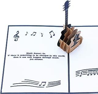 guitar themed birthday cards