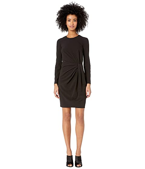 Boutique Moschino Long Sleeve Dress Side Knot