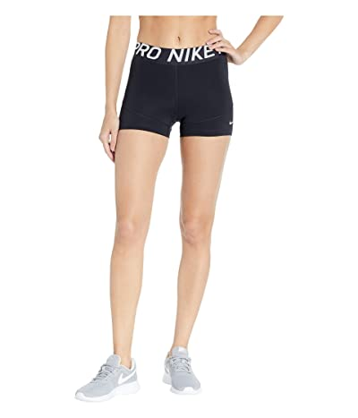 Nike Pro Shorts 3 (Black/White) Women