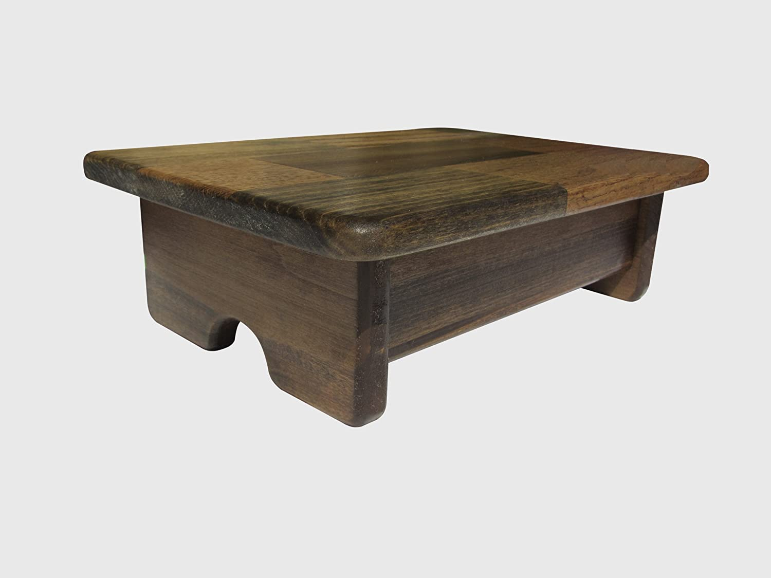 Foot Stool One of a kind Walnut Stain (Made in the USA)