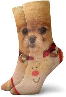OUYouDeFangA, OUYouDeFangA - Calcetines Cortos de algodón para Perros, para Yoga, Senderismo, Ciclismo, Correr, fútbol, Deportes