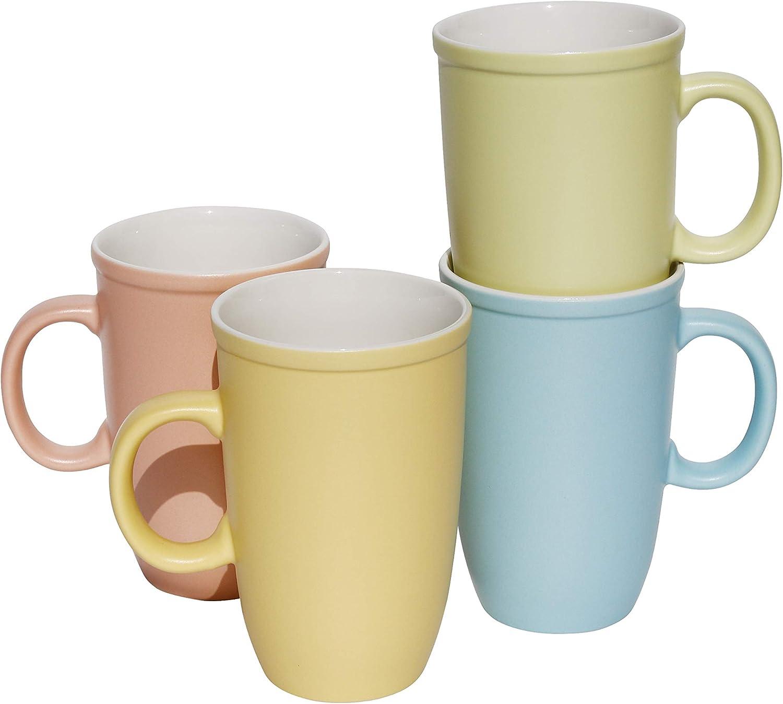 Lovene Matte Candy Sunrise Porcelain 17oz Coffee Cups Mug lowest price T for Super sale