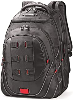 Samsonite Tectonic PFT Laptop Backpack, Black/Red, 17-Inch