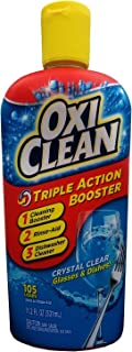 Oxiclean Triple Action Booster Glasses & Dishes Booster 105 Loads (Pack of 2)