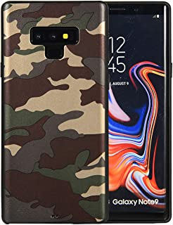 DICHEER Samsung Note 9 Case for Men,Camouflage Slim Silicone Rubber Anti Scratch Shock Proof Anti Finger Flexible TPU Protective Cover Case for Samsung Note 9 6.4 inch