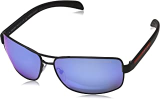 Prada Linea Rossa Sunglasses For Unisex, Blue PS54IS DG02E065 53 mm