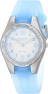 Armitron Sport Women's Easy-to-Read Watch with Translucent Jelly Strap, 25/6440