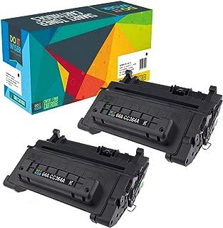 Do it Wiser Compatible Toner Cartridge Replacement for HP 64A CC364A for HP Laserjet P4014 P4014N P4015N P4015 P4015X P4015DN P4515 P4515N P4515X (Black, 2-Pack)