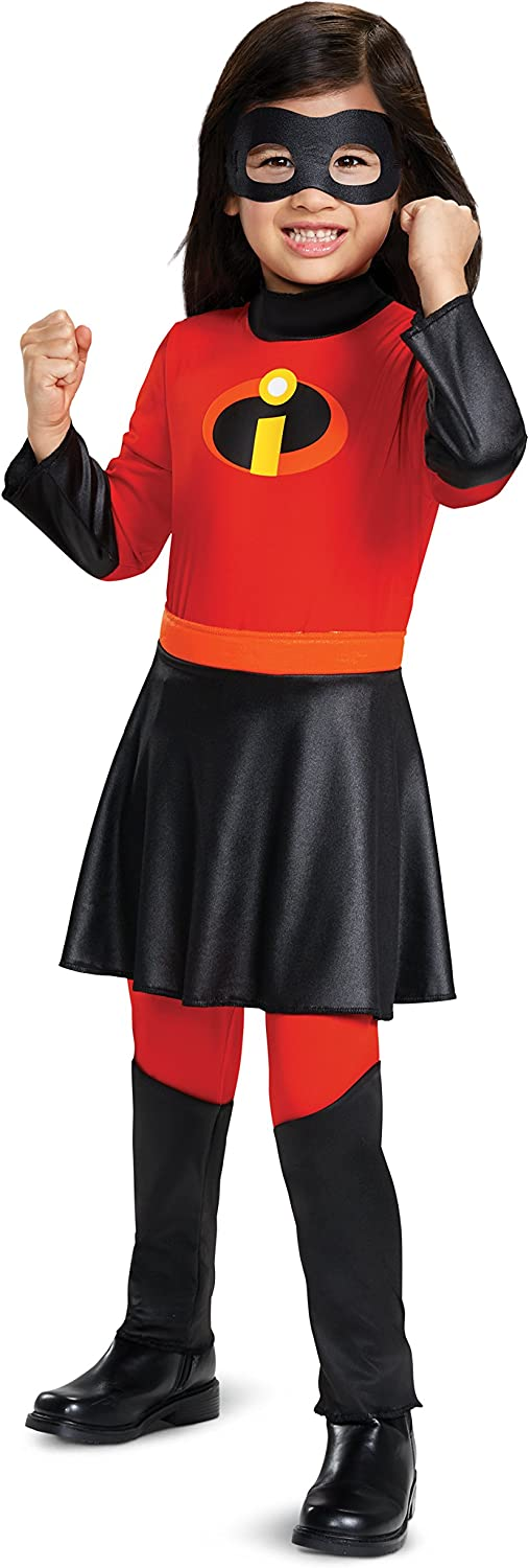 Max 74% OFF Disney SEAL limited product Incredibles 2 Deluxe Jumpsuit Toddler Costume Violet