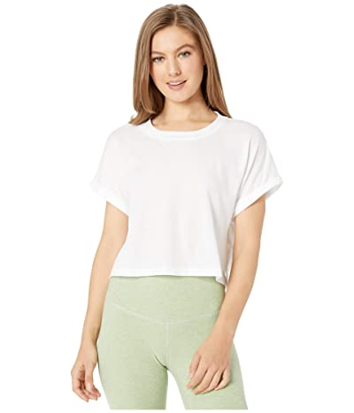 Beyond Yoga Never Been Boxy Tee (White) Women