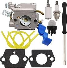 Yooppa Carburetor for Husqvarna 125B 125BX 125BVX Leaf Blower Trimmer Zama C1Q-W37 Husqvarna OE# 545081811, 545 08 18-11/581798001