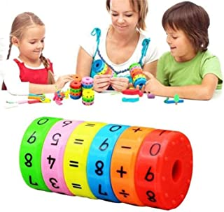 Znworld Magnetic Arithmetic Learning Toys - Children's Montessori Educational Early Educational Toys, Math Games Children ...