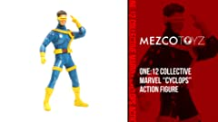 Amazon.com: One: 12 Collective: Marvel Cyclops Action Figure ...