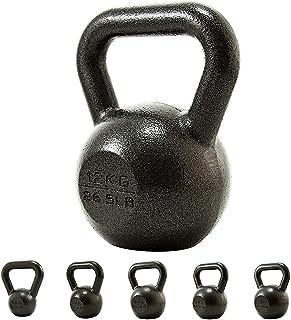 SHX Kettlebell Ghisa 4-32 kg, Presa Antiscivolo E Base con Gomma Protettiva,Ideale per Esercizi di Functional Fitness