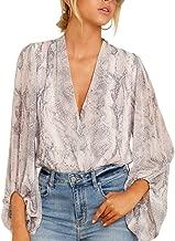 Best snakeskin wrap blouse Reviews