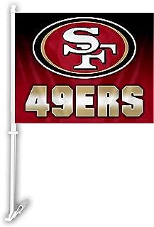 NFL Ombre Design Car Flag, 11