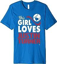 Justin Turner This Girl Loves T-Shirt - Apparel