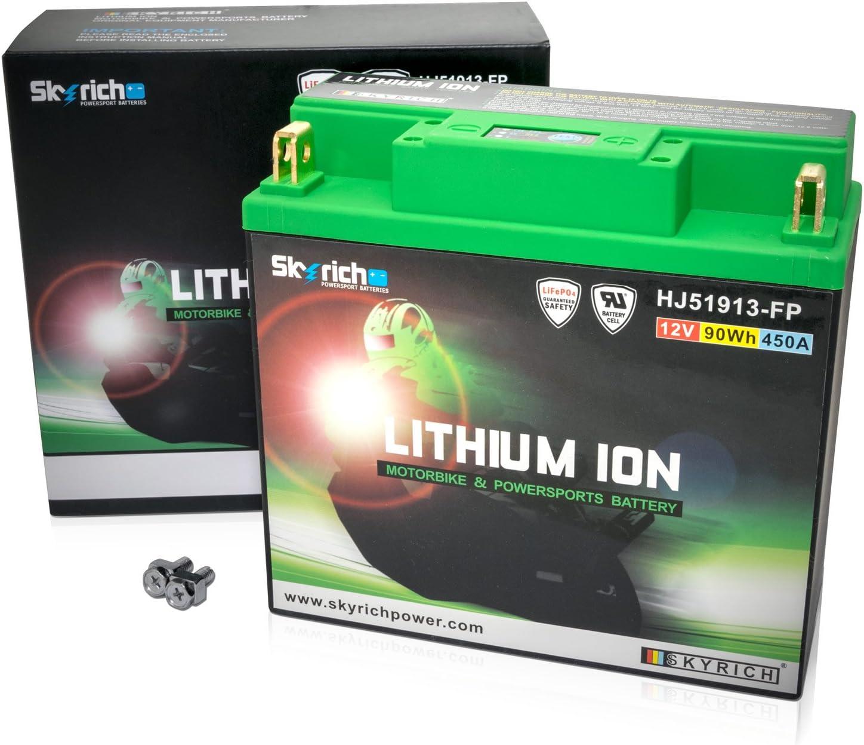 Bateria Litio Skyrich HJ51913-FP, norme