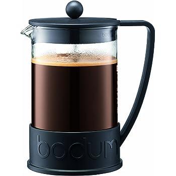 Bodum Brazil Cafetera Estilo Prensa Francesa, 12 tazas, 1.5 L, 51 oz