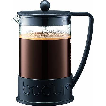 Bodum Brazil French Press Coffee Maker, 1.5 Liter, 51 Ounce, Black