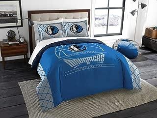 Dallas Mavericks - 3 Piece FULL / QUEEN SIZE Printed Comforter & Shams - Entire Set Includes: 1 Full / Queen Comforter (86