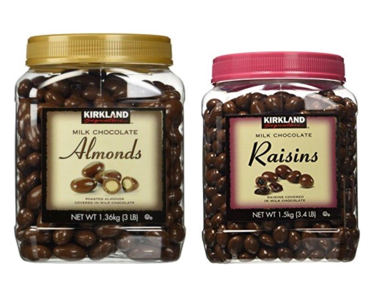 Kirkland Signature Super-cheap Chocolate Roasted Raisin Almonds 55% OFF