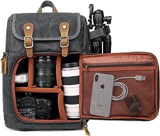 Camerarugzak, grote capaciteit, ritssluiting voor, waterdichte schokdemping, voor SLR-/DSLR-camera's, professionele camera...