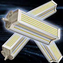 4-Pack Led 60w R7s Dubbele Dimbare Lamp (Vervangende Gelijkwaardige 1000w Dubbele Halogeenlampen) 189 Mm 6000k Koel Witte ...